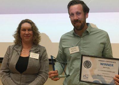 Hallett Cove Business Association Award Best Tradie winner Butlers Garden Care