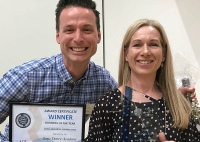 Hallett Cove Business Association Awards Night 2021 Business of the Year Stepz 900px